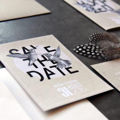 JUKA Festpapeterie Save the Date Hochzeitseinaldung